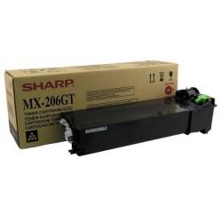 TONER NERO SHARP MX-206GT per SHARP MX-M200D, MX-M160D