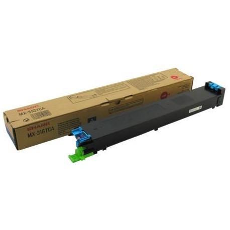 MX-31GTCA TONER CIANO per SHARP MX-2301N, MX-2600N, MX-3100N