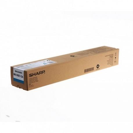 TONER CIANO MX-61GTCA per SHARP MX-3070N, MX-3570N, MX-4070N