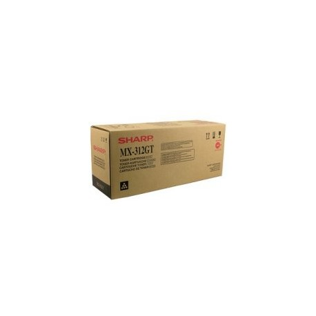 TONER NERO MX-312GT per SHARP AR 5731, AR 5726, MX-M 260, MX-M 264N, MX-M314N, MX-M310, MX-M 354N