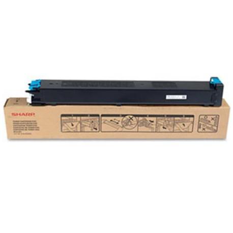 TONER CIANO MX-23GTCA per SHARP MX-2310U, MX-2010U, MX-2314N, MX-2614N, MX-3111U, MX-3114N
