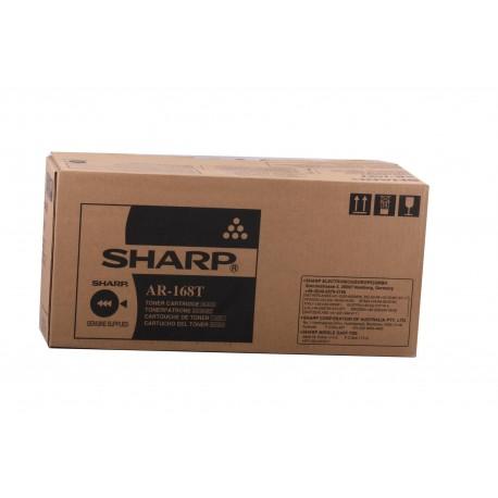 TONER NERO AR-168T per SHARP AR 152, AR 122, AR 153, AR 153EN, AR 5012, AR 5415, AR M150, AR M155