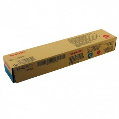 TONER CIANO MX-C38GTC per SHARP MX-C310, MX-C311, MX-C380, MX-C312, MX-C381