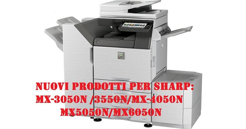 Ricambi, consumabili e toner per SHARP MX-3050n/3550n/4050n/5050n/6050n
